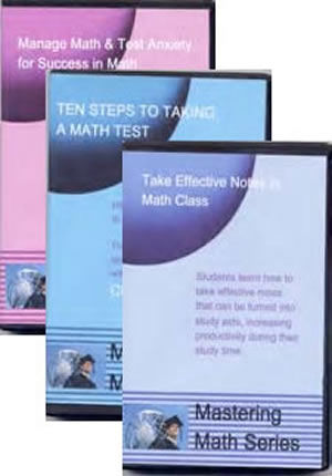 Mastering Math Three DVD Package (Best Value)